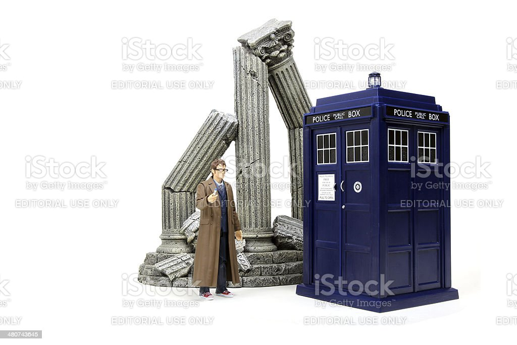 Time Lord Victorious royalty-free stock photo