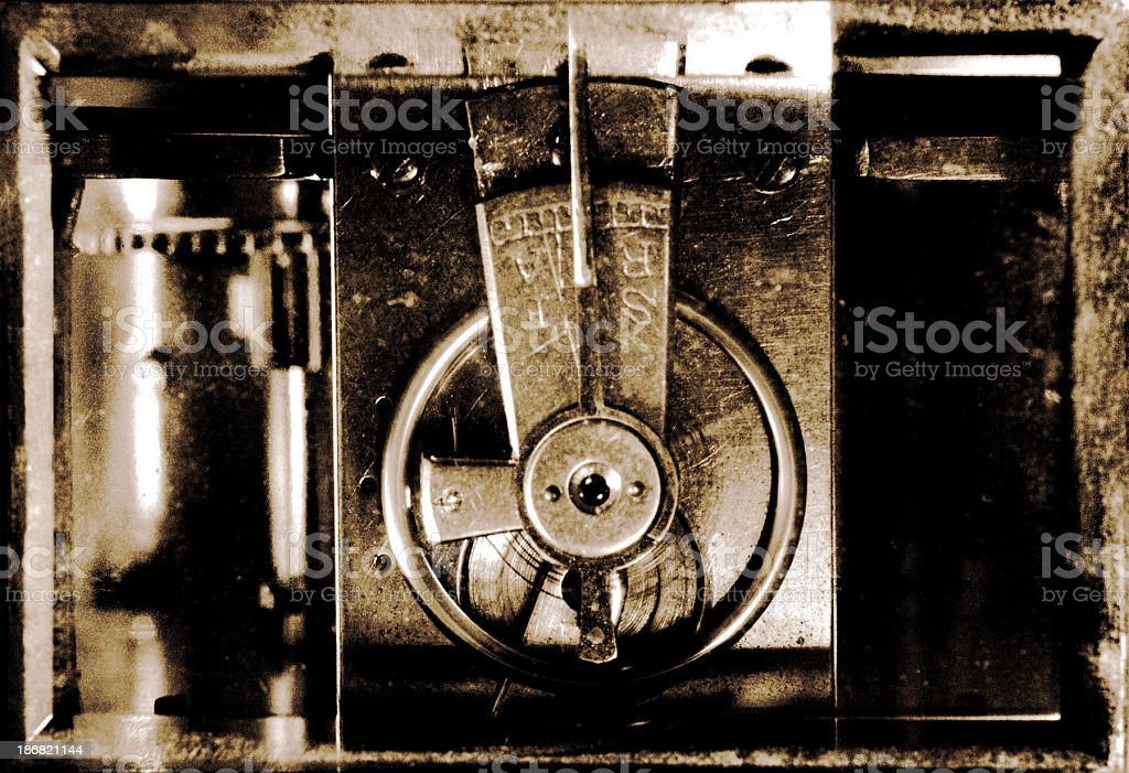 Time machine royalty-free stock photo