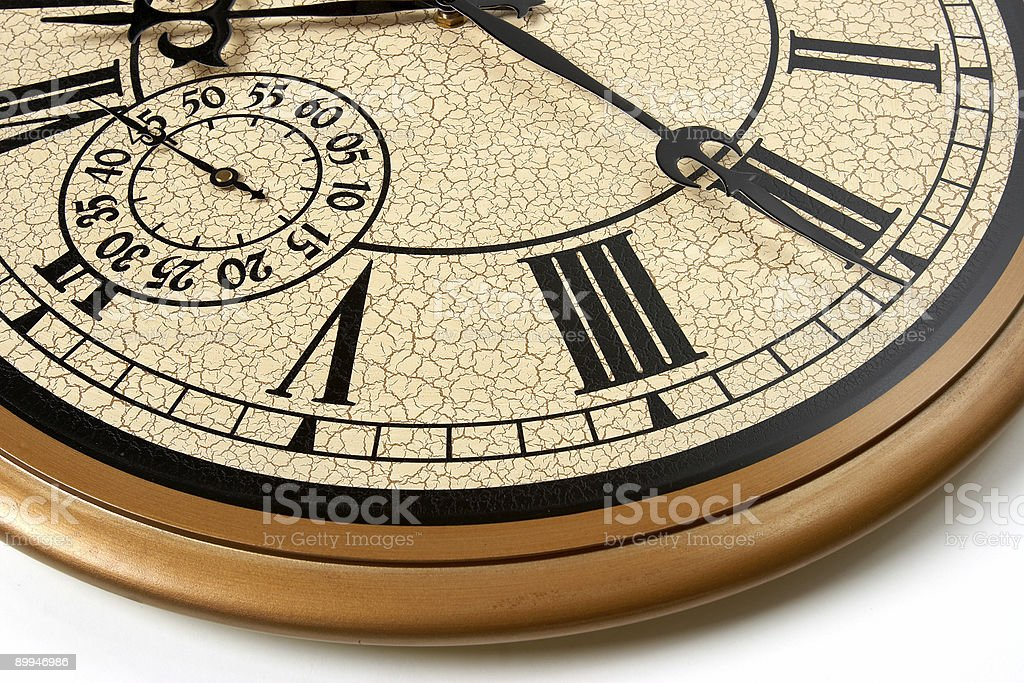 Time Magnified royalty-free stock photo