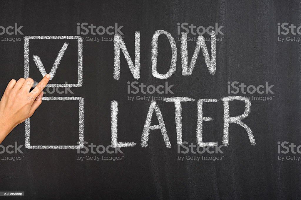 Time management concept stock photo