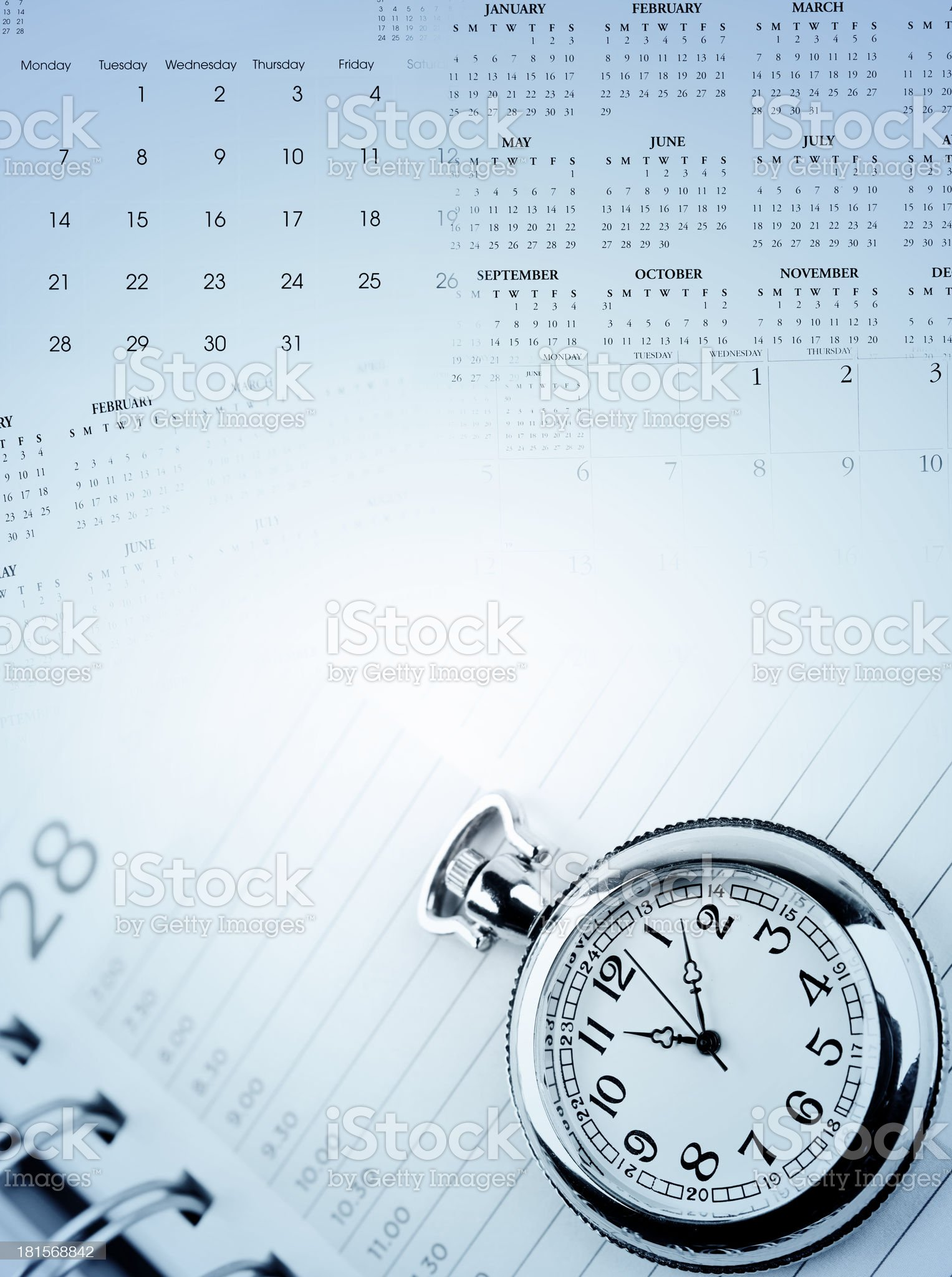 Time management royalty-free stock photo