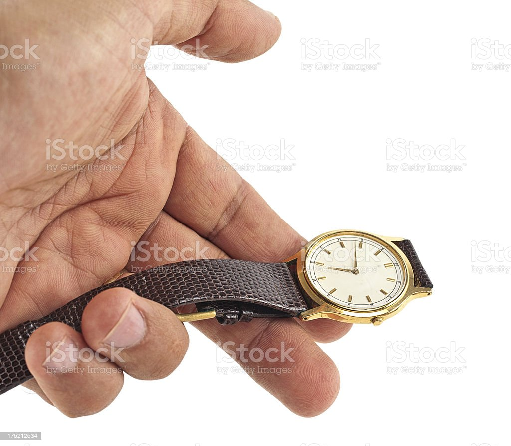 Time Measuring royalty-free stock photo