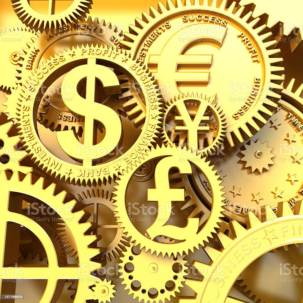 Time - Money royalty-free stock photo