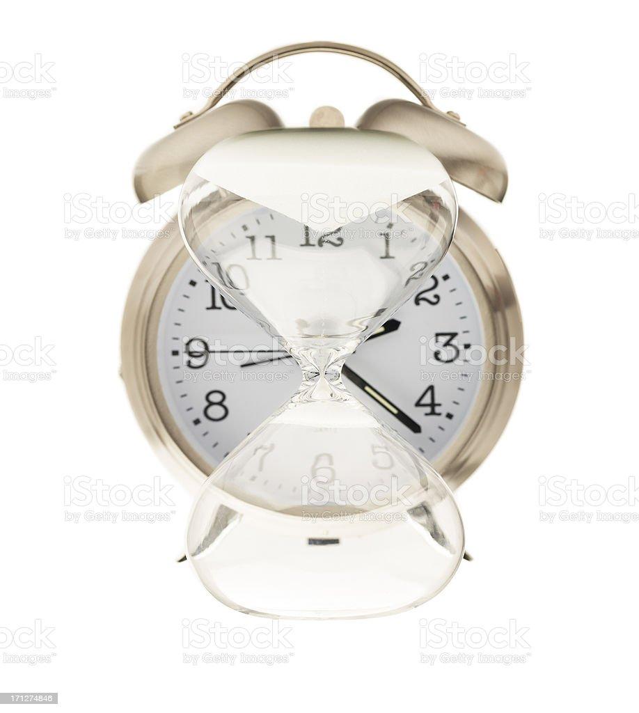 Time Moving Backwards royalty-free stock photo