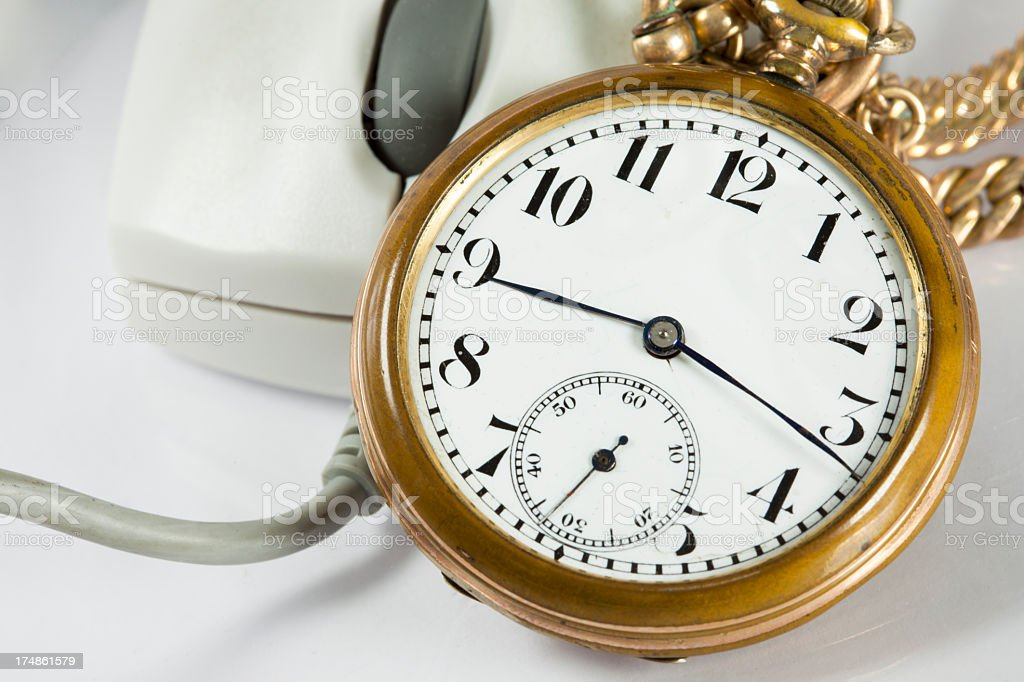 Time of change stock photo