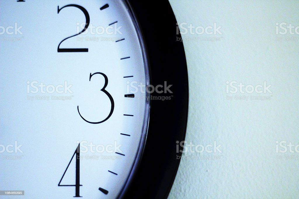 Time of Day royalty-free stock photo