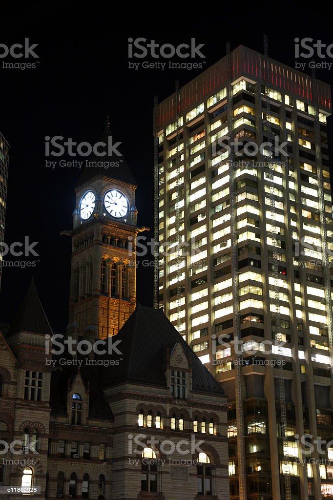Time of Toronto stock photo