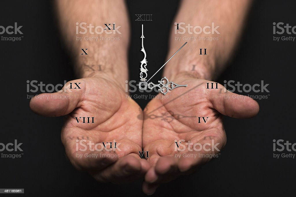 Time on my Hands stock photo
