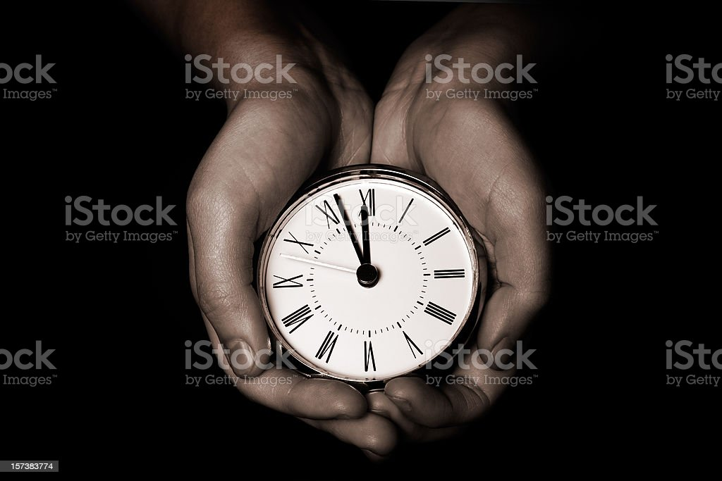 Time On Your Hands royalty-free stock photo