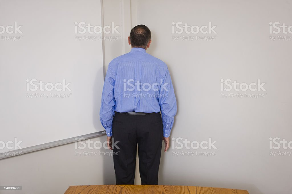 Time out in business royalty-free stock photo