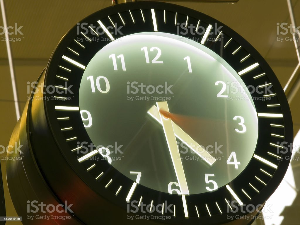 time passing by royalty-free stock photo