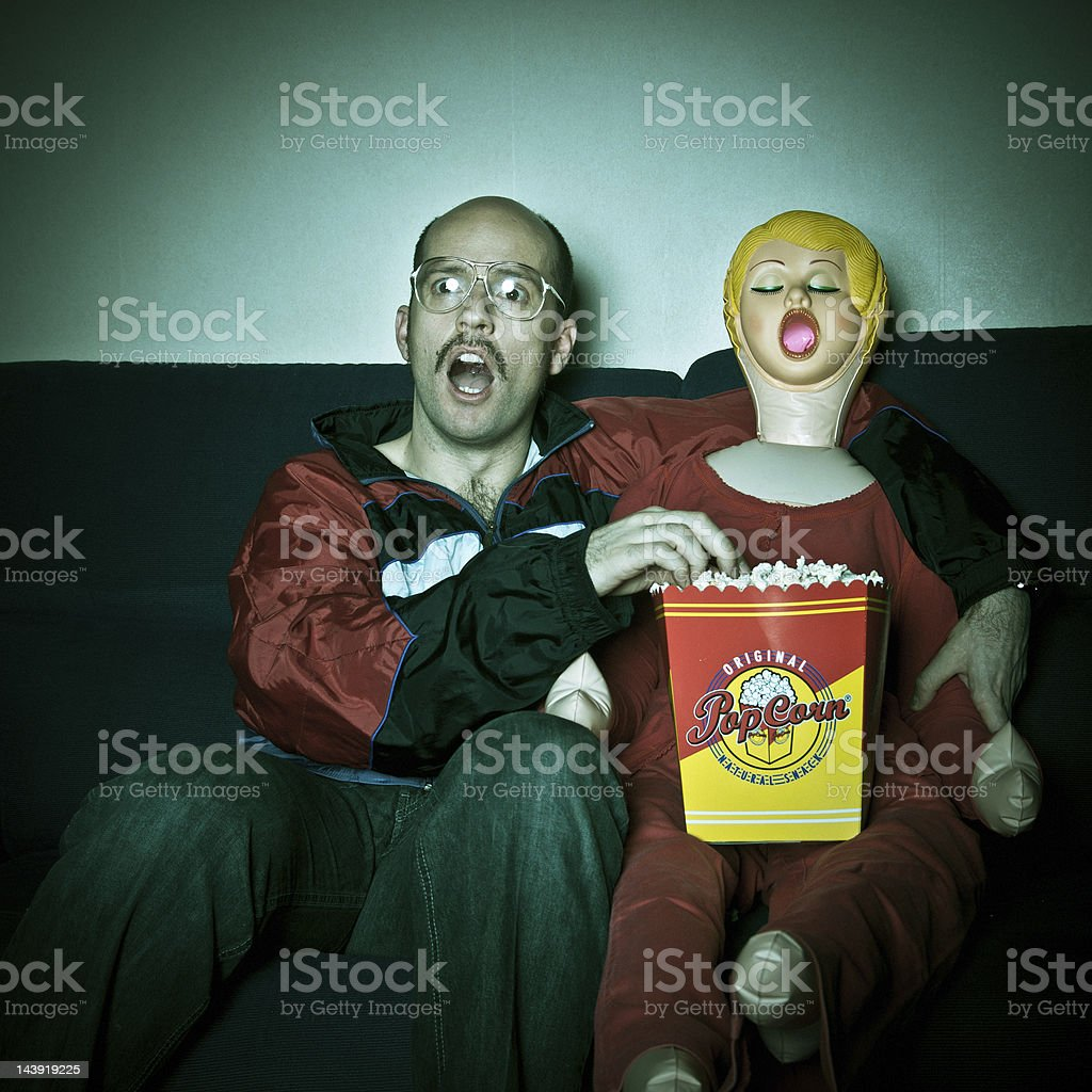 TV Time royalty-free stock photo