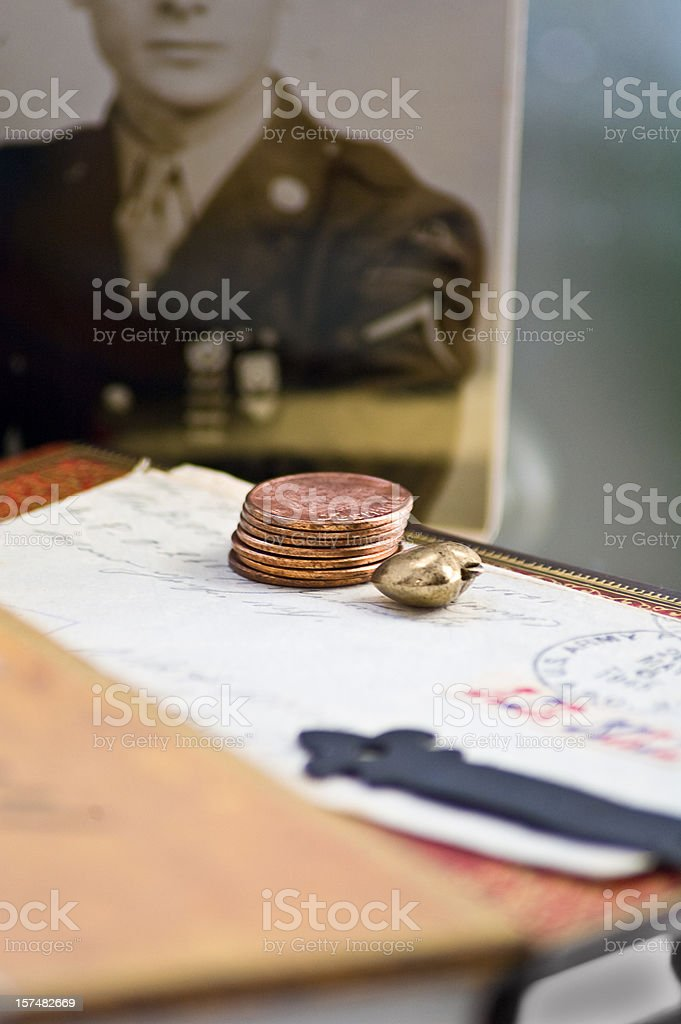 WWII Time stock photo