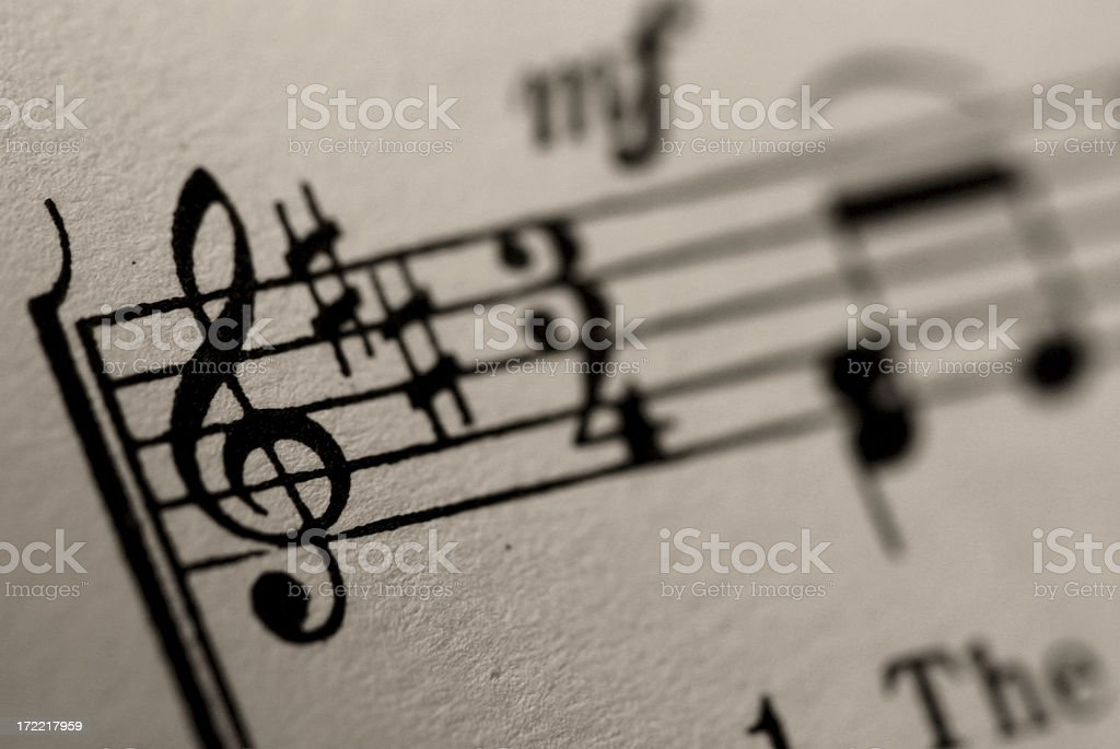 3/4 Time royalty-free stock photo