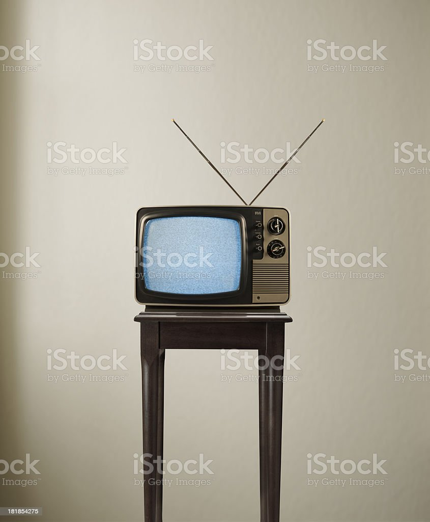 TV Time stock photo
