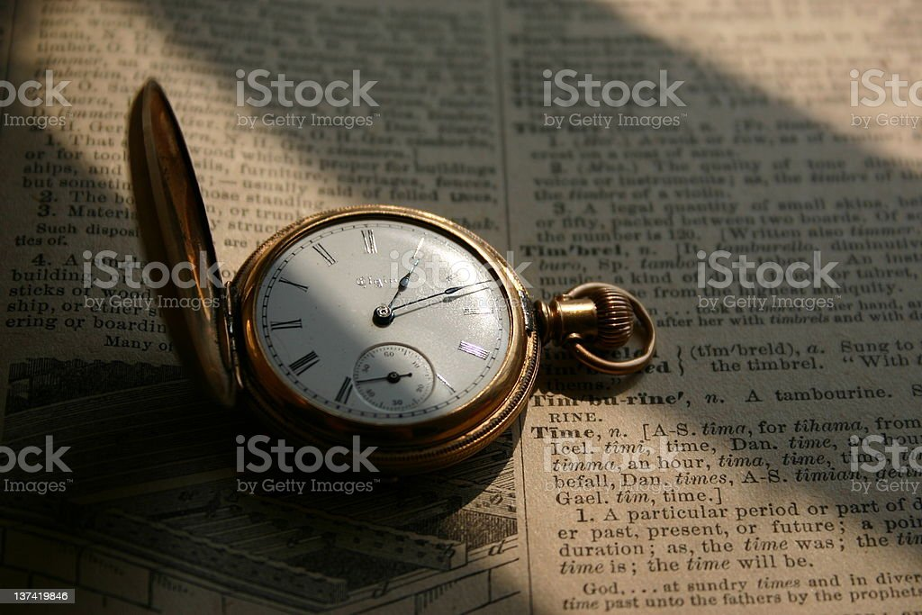 Time Piece stock photo