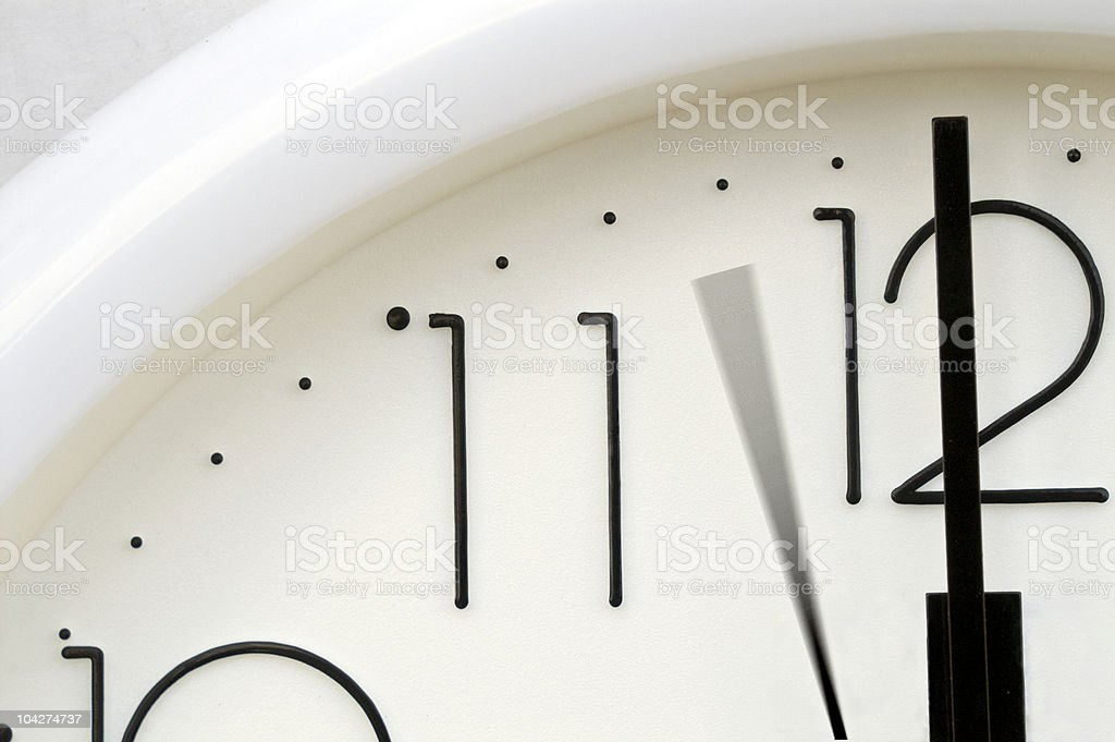 Time presses royalty-free stock photo