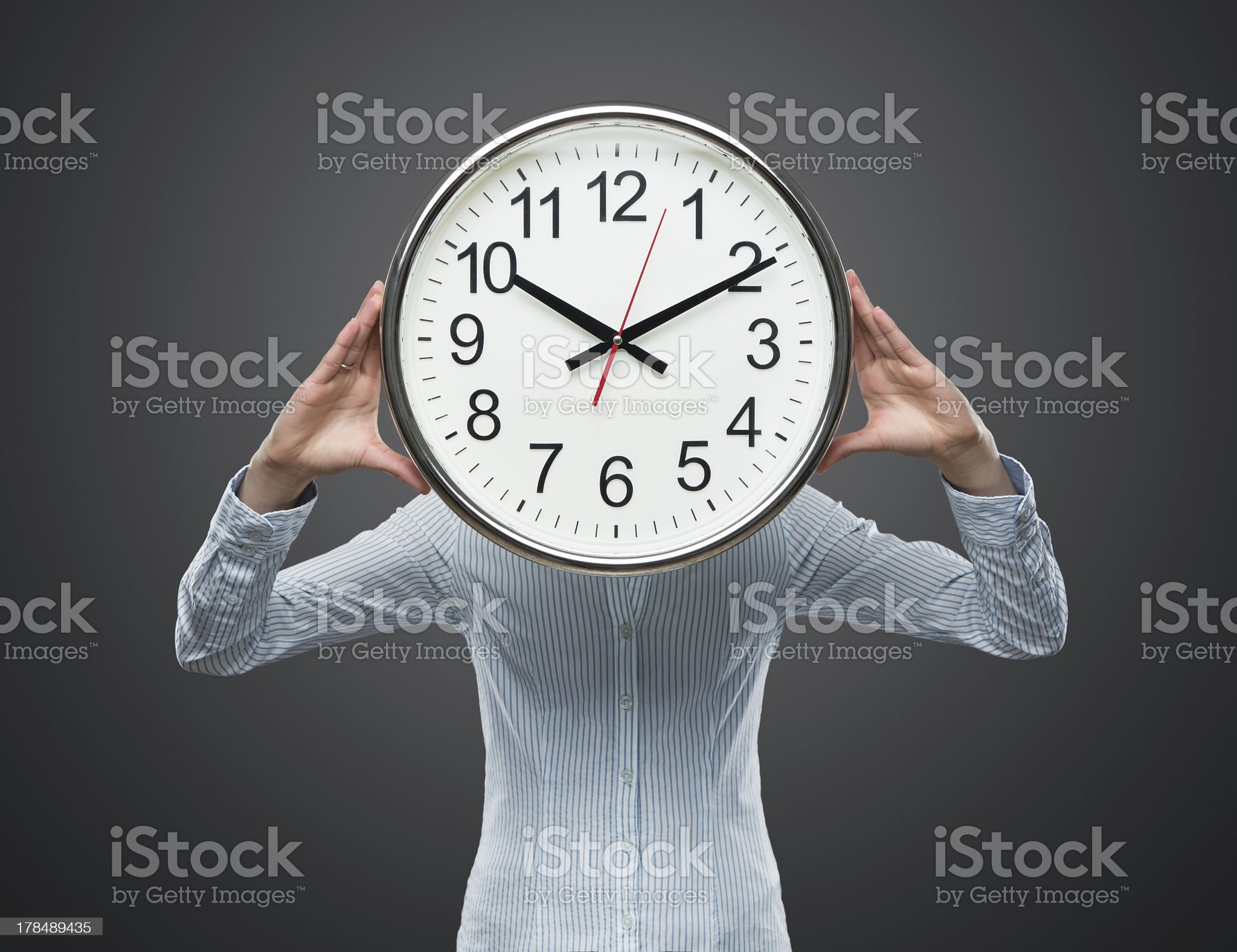 Time pressure concept royalty-free stock photo