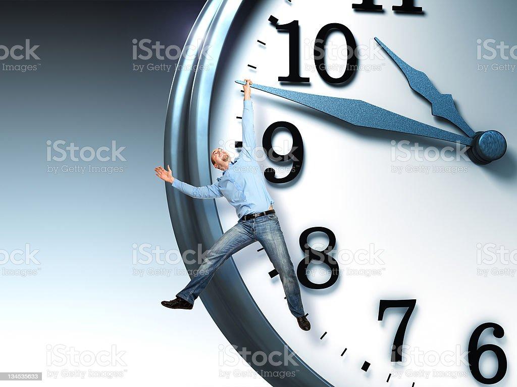 time problem stock photo