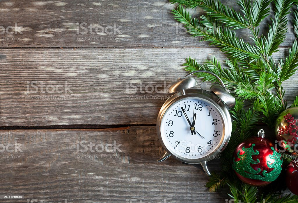 Time Running Out - Christmas stock photo