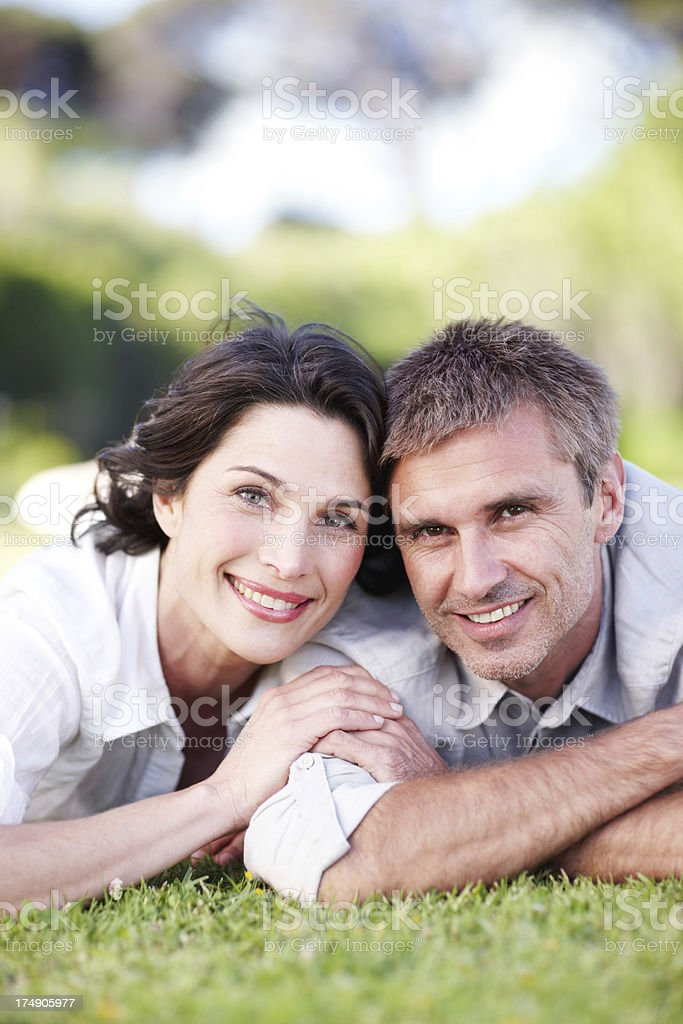 Time shared together is precious to them royalty-free stock photo
