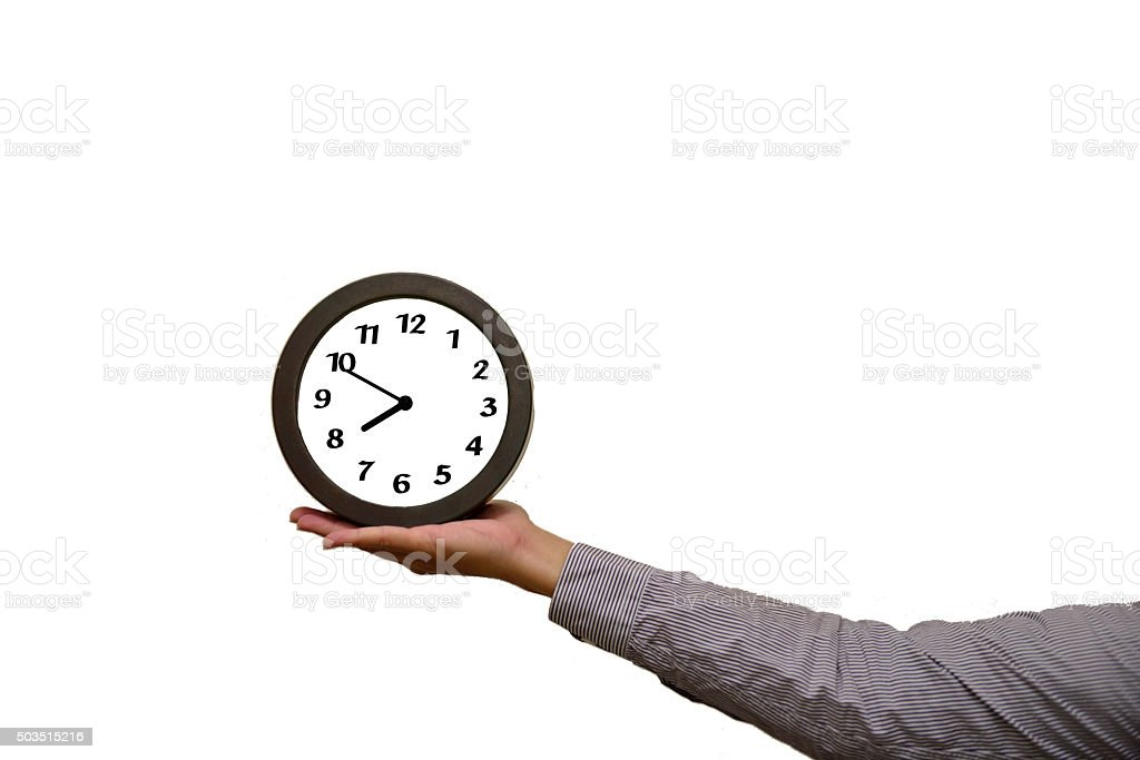 Time slipped away quietly stock photo
