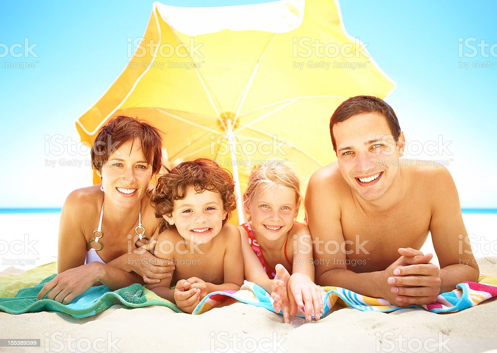 Time spent with your family is priceless royalty-free stock photo