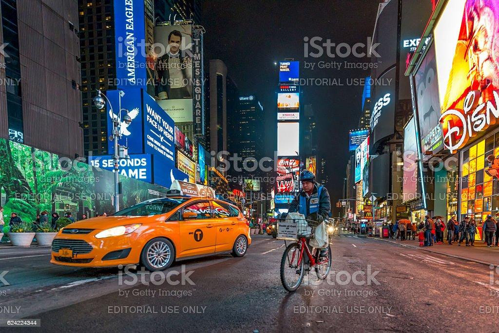 Time Square, New York, USA stock photo
