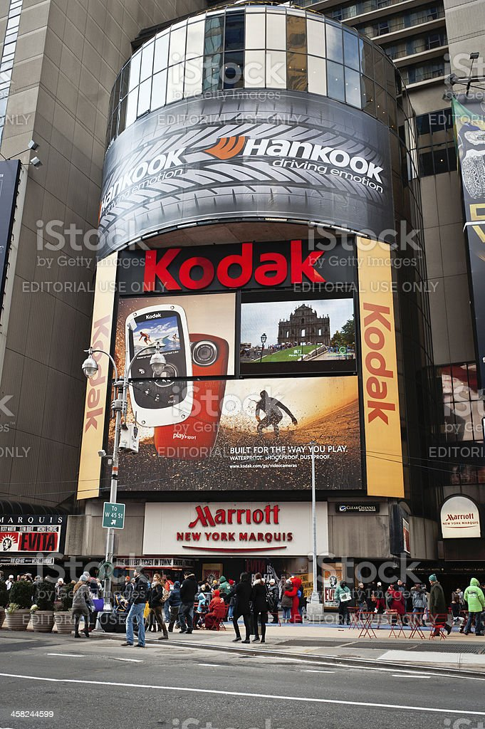 Time Square, NYC stock photo