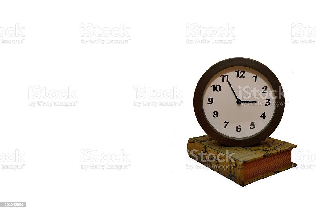 Time to accumulate knowledge stock photo