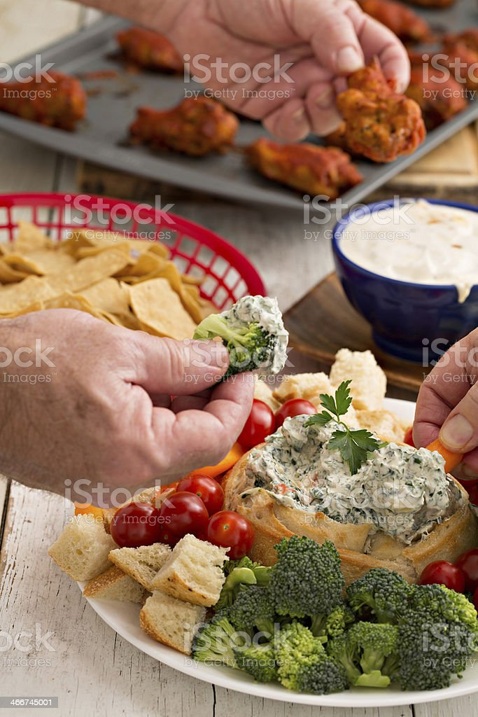 Time To Chow Down stock photo