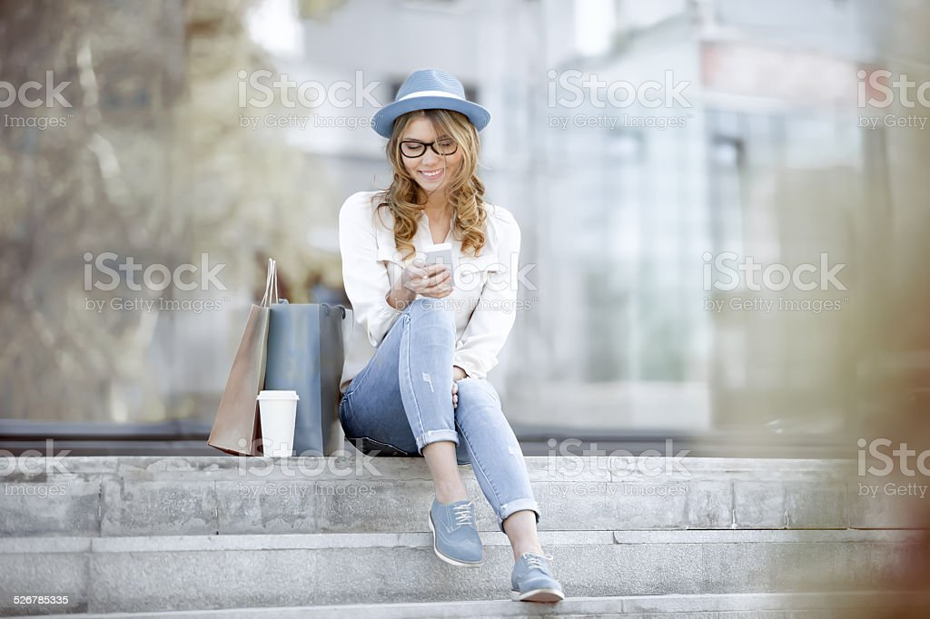 Time to communicate. stock photo