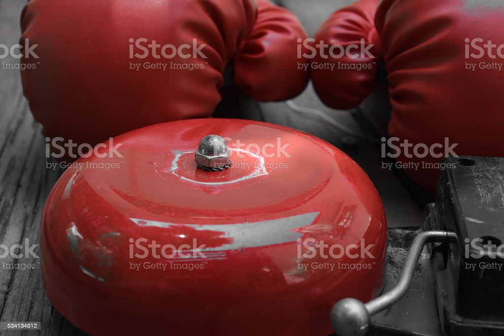 Time to fight stock photo