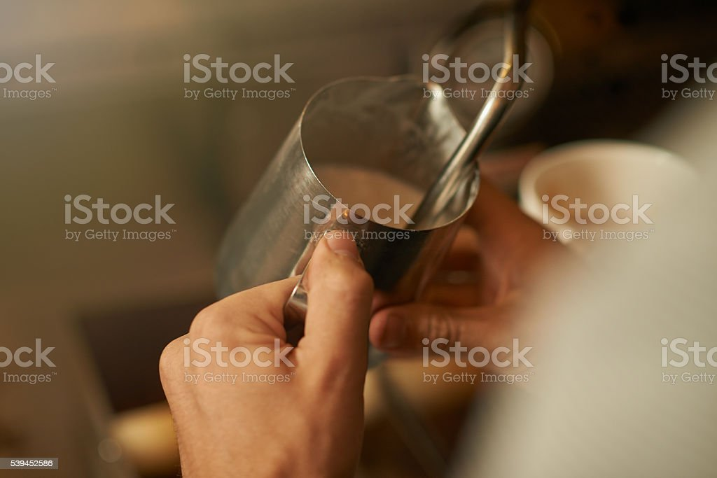 Time to get arty... stock photo