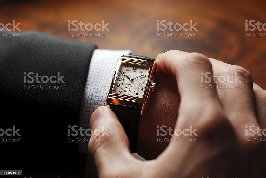 Time to go stock photo
