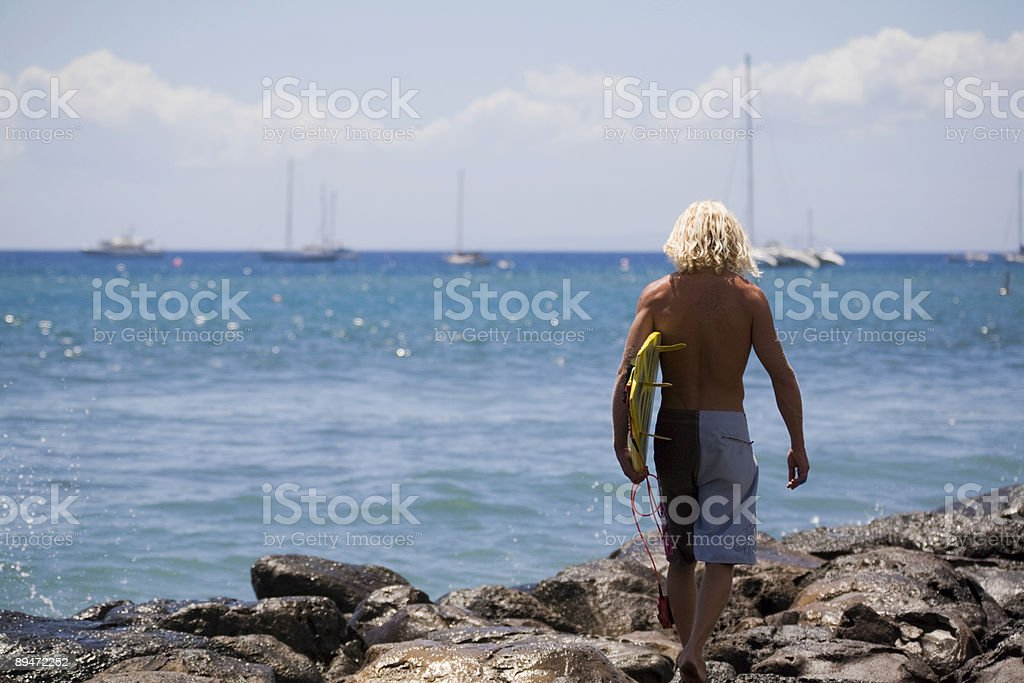 Time To Go Surfing royalty-free stock photo
