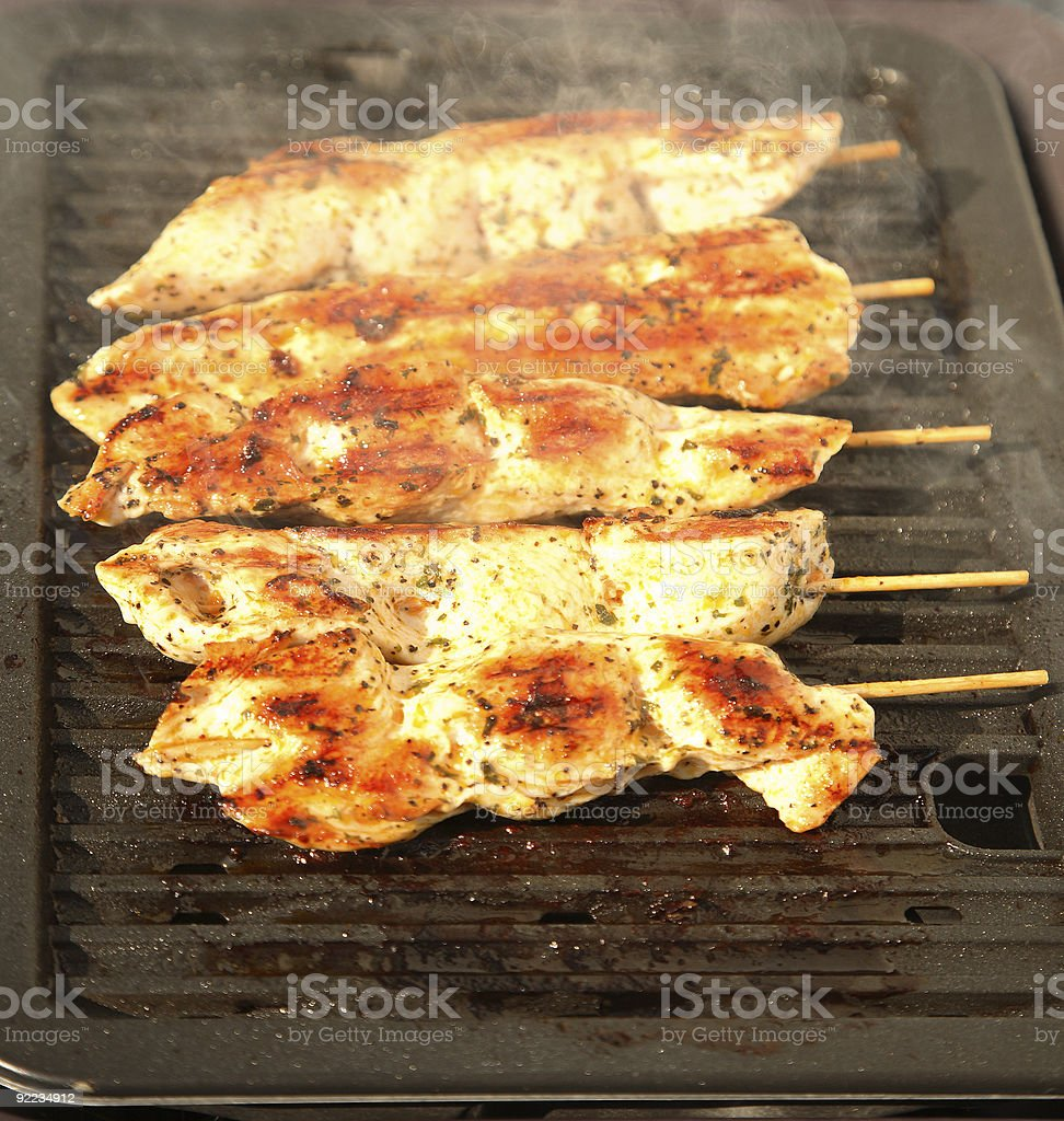 Time to grill royalty-free stock photo