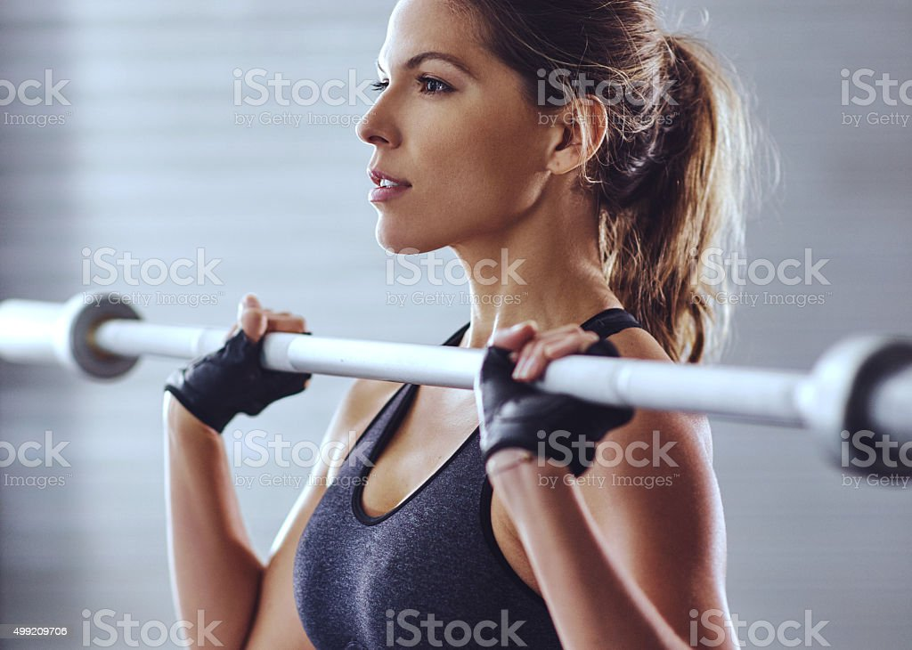 Time to hit the gym stock photo