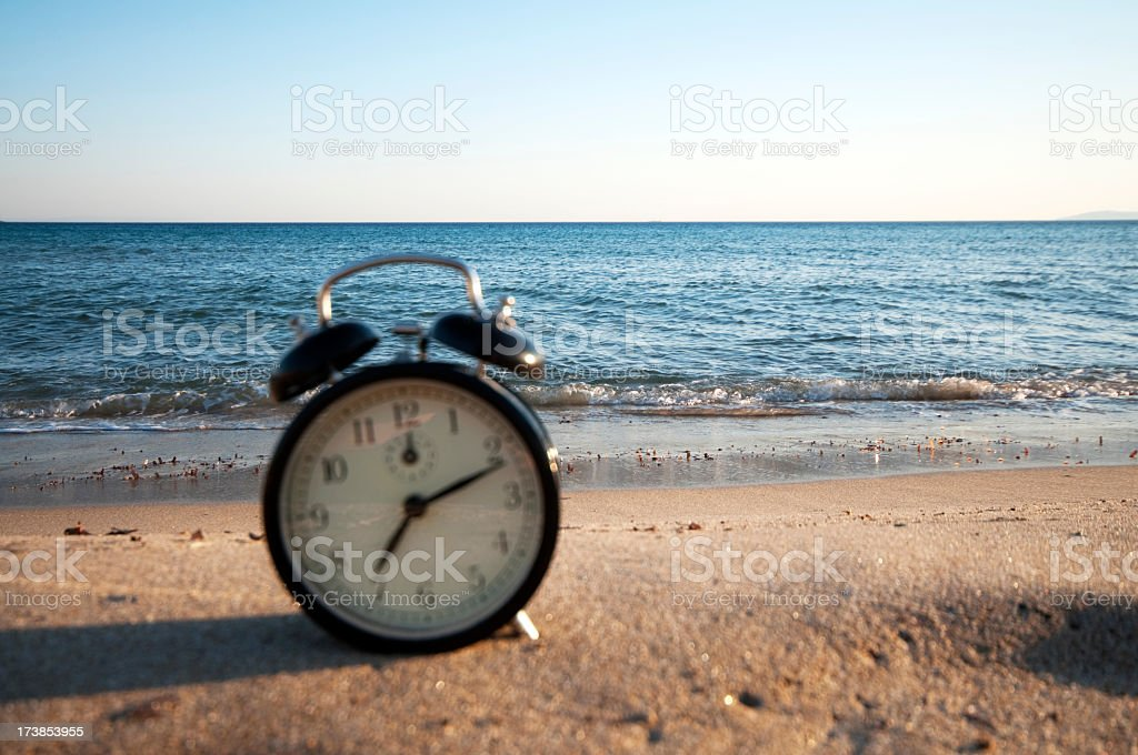 time to holiday royalty-free stock photo