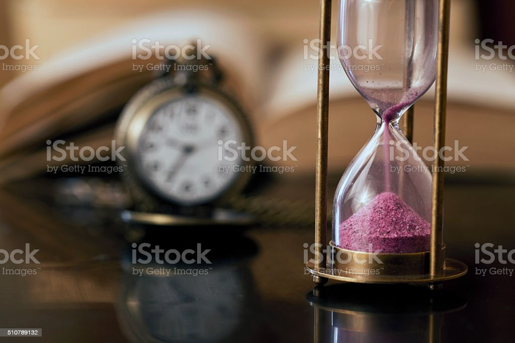 Time to learn concept stock photo
