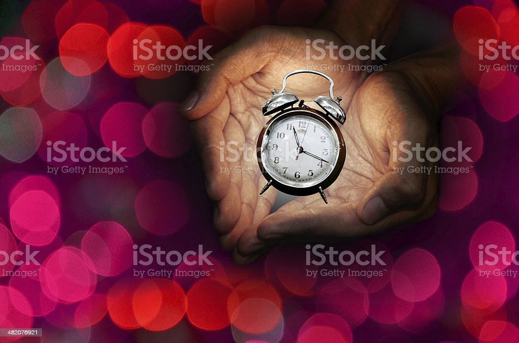 Time to love, Valentines day concept stock photo