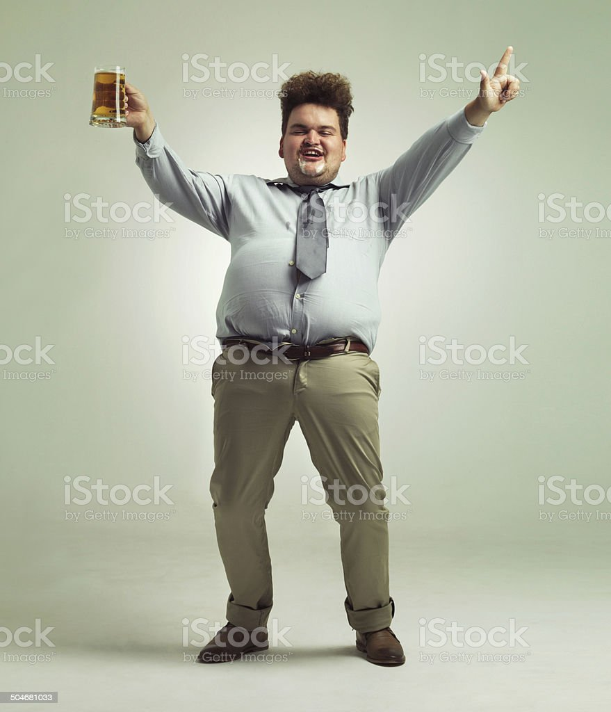 Time to party! stock photo