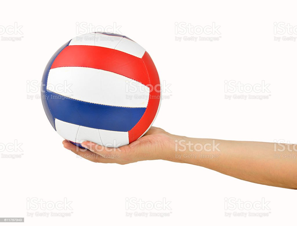 time to play volleyball stock photo
