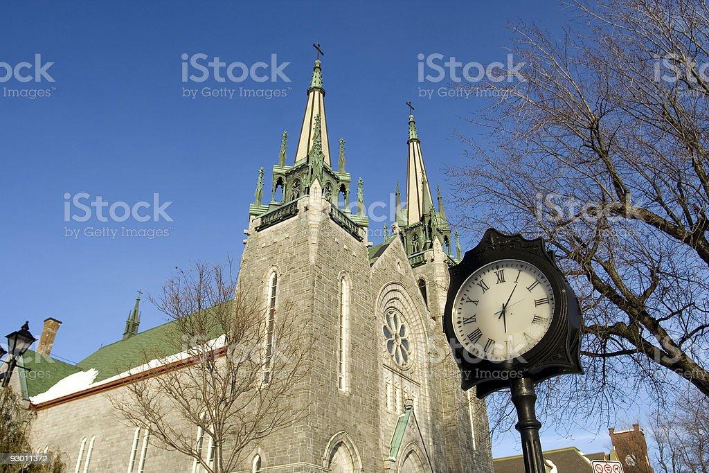 Time to pray royalty-free stock photo
