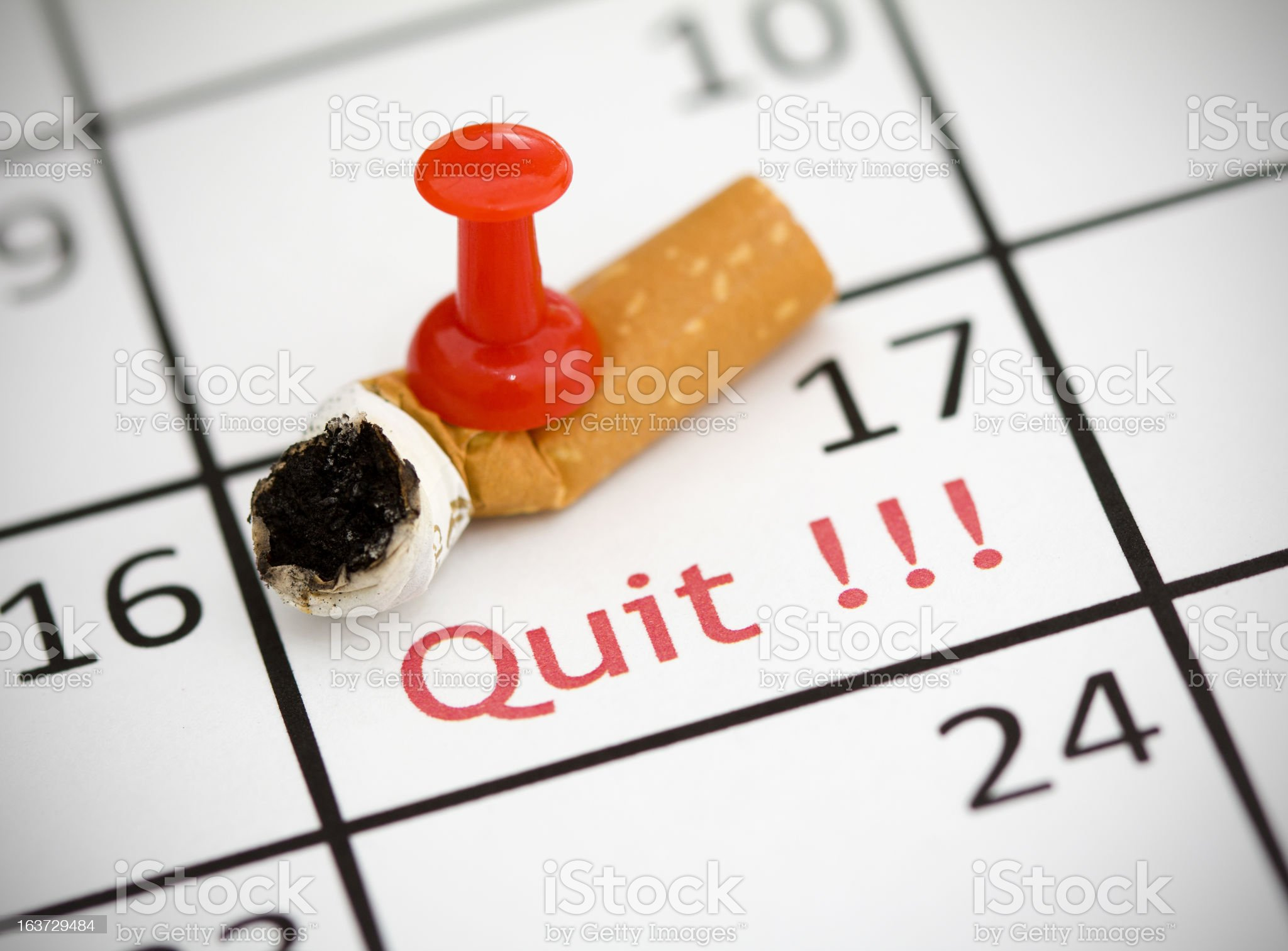 Time to Quit royalty-free stock photo