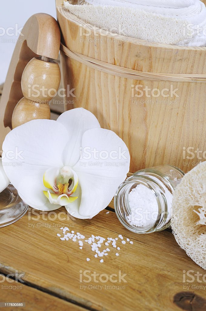 Time to Relax Spa stock photo