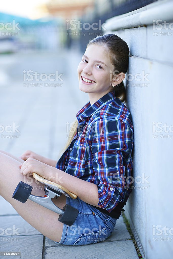 Time to ride stock photo
