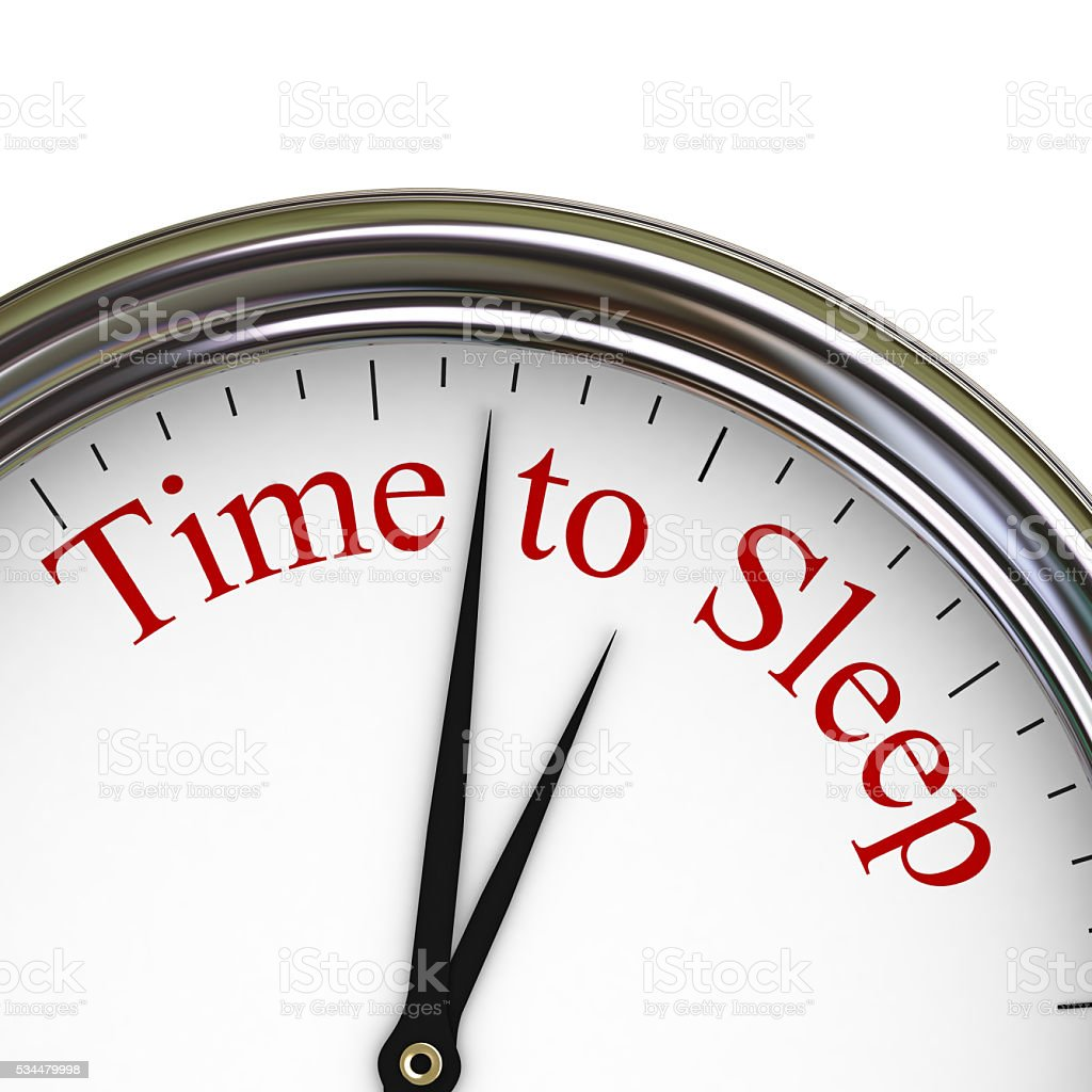 Time to Sleep stock photo