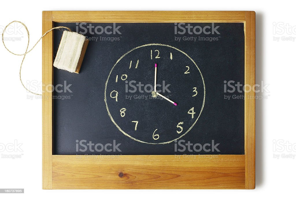 Time to Study royalty-free stock photo