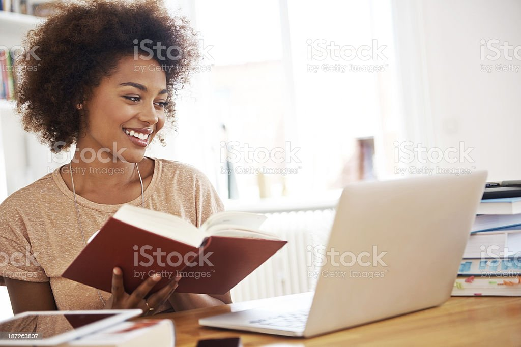 Time to study! stock photo